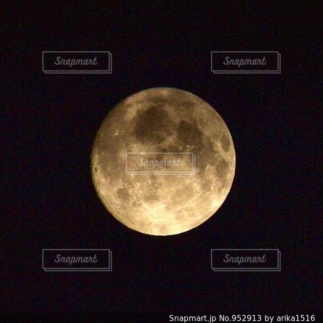 満月の写真・画像素材[952913]