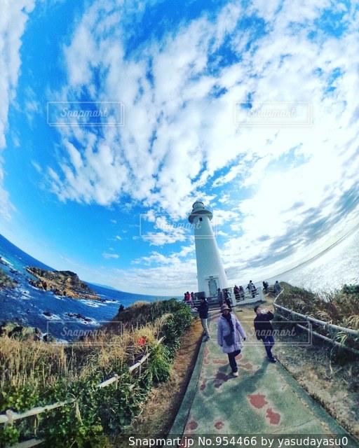 爪木崎灯台の写真・画像素材[954466]