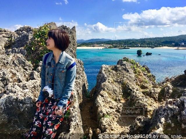 青空と海との写真・画像素材[982505]