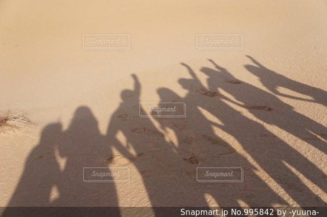 友達の影の写真・画像素材[995842]