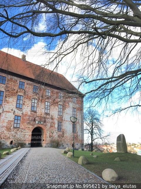 デンマークの城の写真・画像素材[995621]