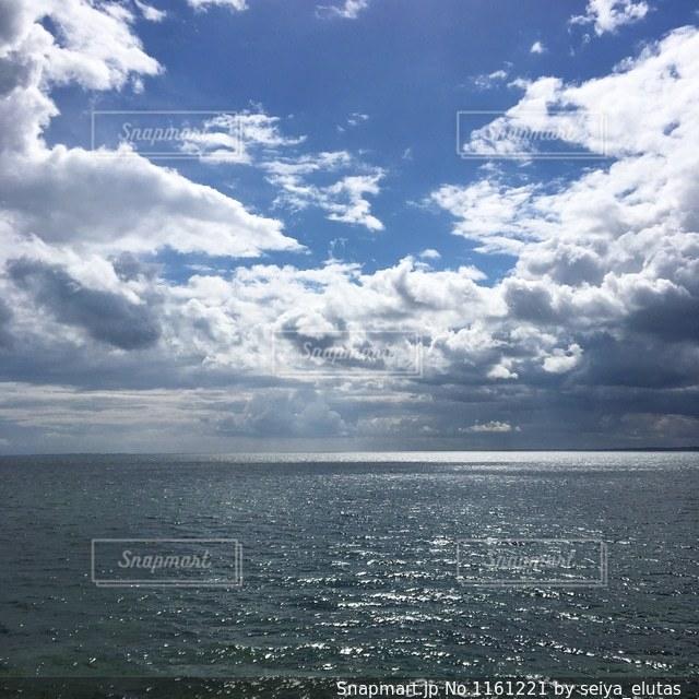 デンマークのユトランド半島東部にあるKnebelの海の写真・画像素材[1161221]