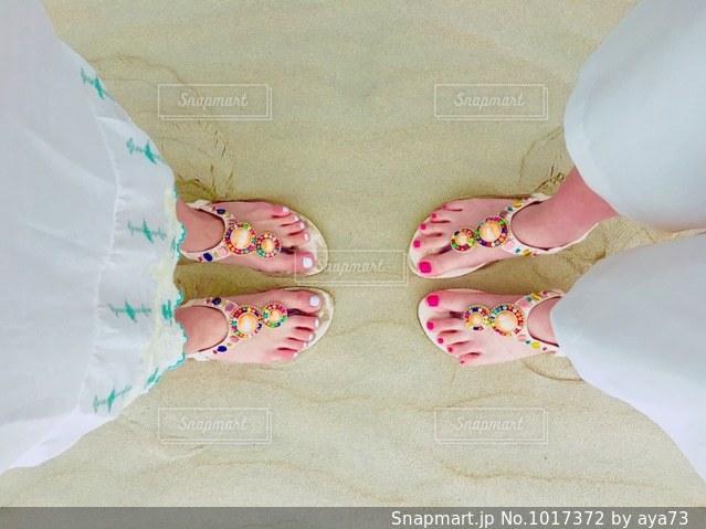 matching shoes 👡の写真・画像素材[1017372]