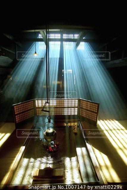 妻籠宿脇本陣奥谷の写真・画像素材[1007147]