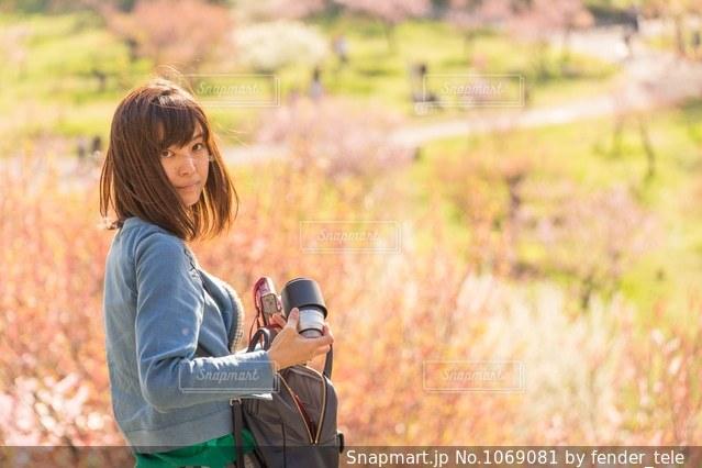 梅の花の写真・画像素材[1069081]