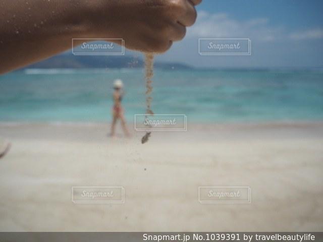 ビーチと砂の写真・画像素材[1039391]