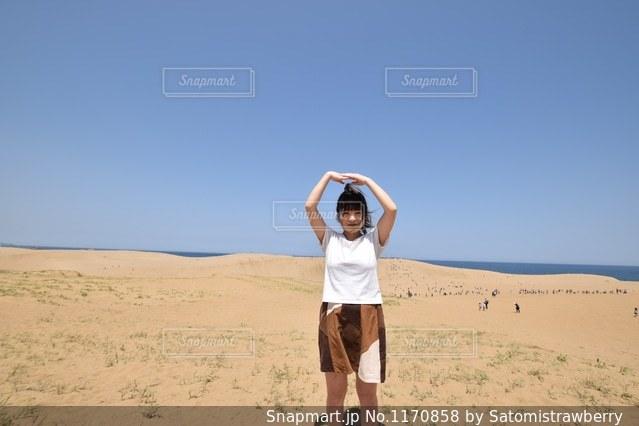砂丘の写真・画像素材[1170858]