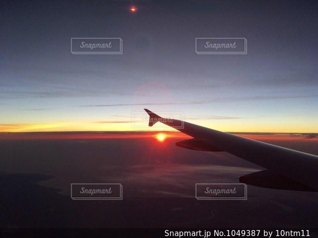 日没の写真・画像素材[1049387]