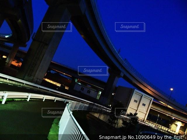 高架下の写真・画像素材[1090649]