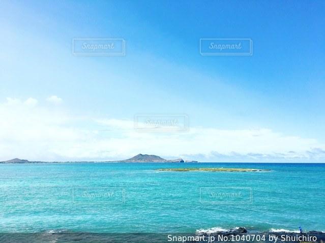 ハワイの海の写真・画像素材[1040704]