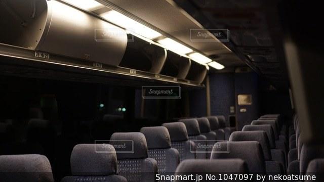 バス車内の写真・画像素材[1047097]