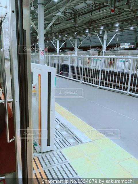 二子玉川駅のホームの写真・画像素材[1554079]