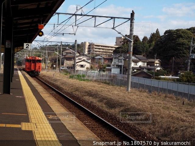 山陰本線玉造温泉駅の写真・画像素材[1807570]