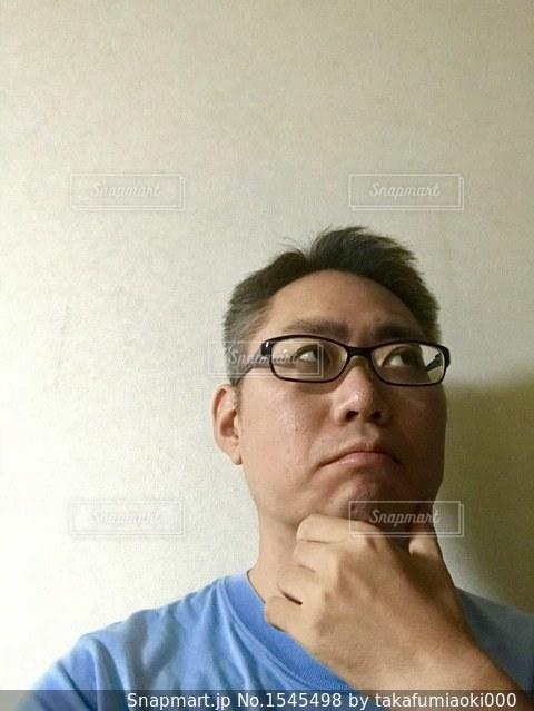 考える男の写真・画像素材[1545498]