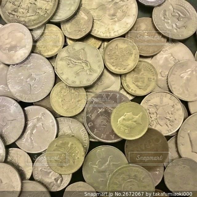外国通貨の写真・画像素材[2672067]