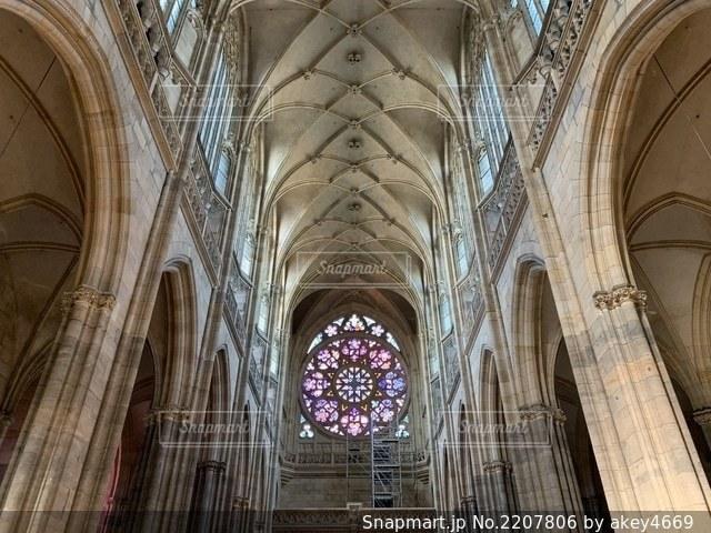 聖ヴィート大聖堂の写真・画像素材[2207806]
