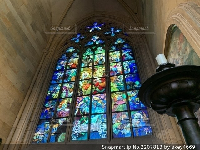 聖ヴィート大聖堂の写真・画像素材[2207813]