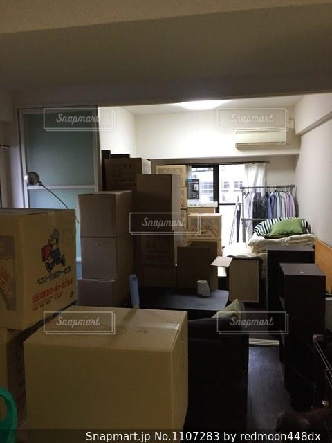 部屋の家具がいっぱいの写真・画像素材[1107283]