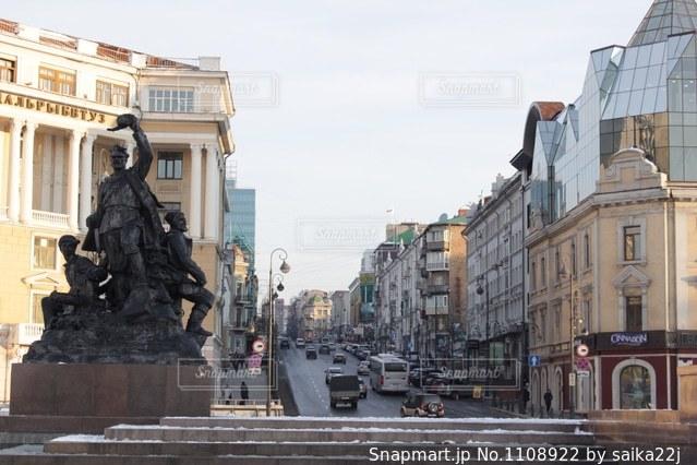 ロシアの街並みの写真・画像素材[1108922]