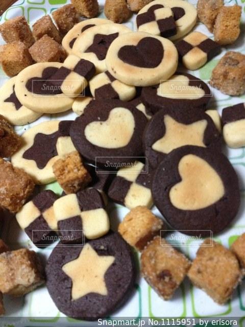 かわいいクッキーの写真・画像素材[1115951]