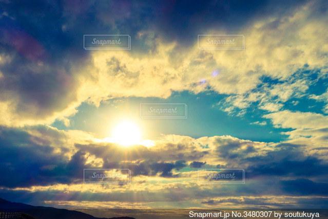 空の雲の写真・画像素材[3480307]