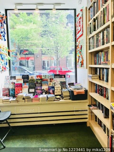マンハッタンの本屋さんから見た景色の写真・画像素材[1223441]