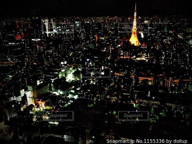 東京夜景 六本木ヒルズよりの写真・画像素材[1155336]