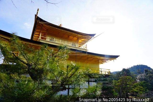 金閣寺の写真・画像素材[2005425]