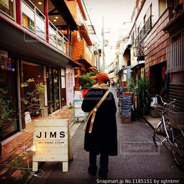 中崎町散策の写真・画像素材[1185151]