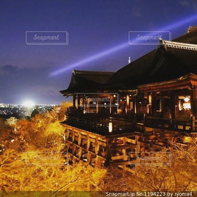 京都清水寺の写真・画像素材[1194223]