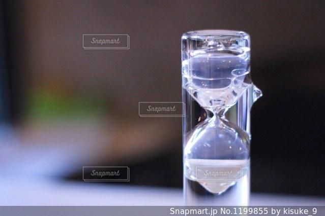 砂時計のオブジェの写真・画像素材[1199855]