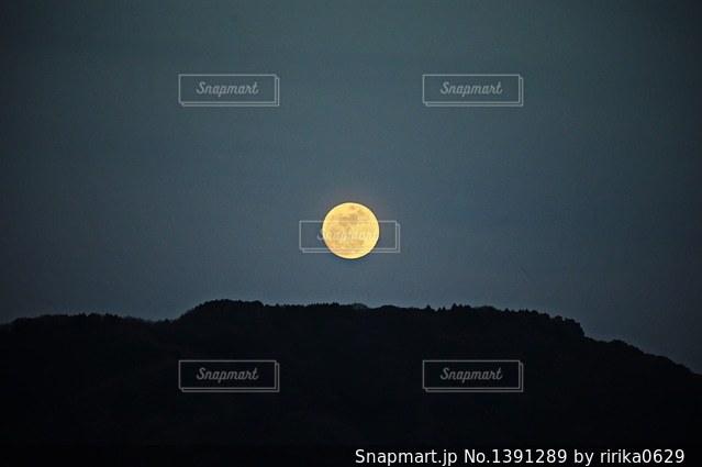 満月の写真・画像素材[1391289]
