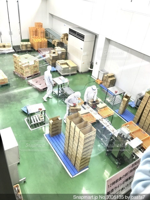 こんにゃくパークの工場見学の写真・画像素材[3335135]