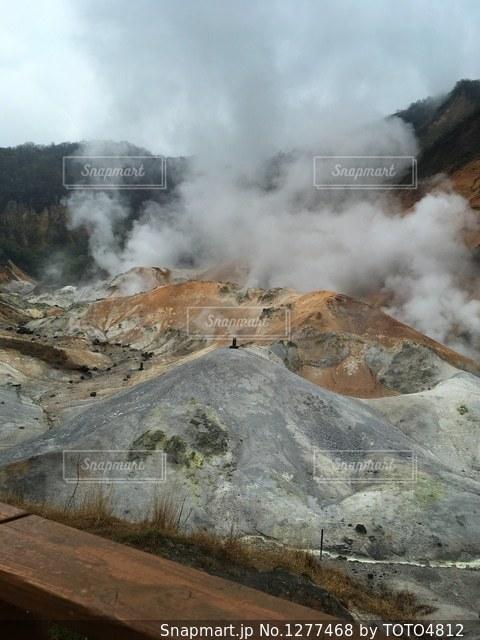 登別の地獄温泉の写真・画像素材[1277468]