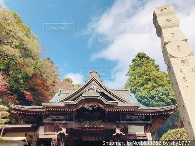大窪寺にての写真・画像素材[1633762]
