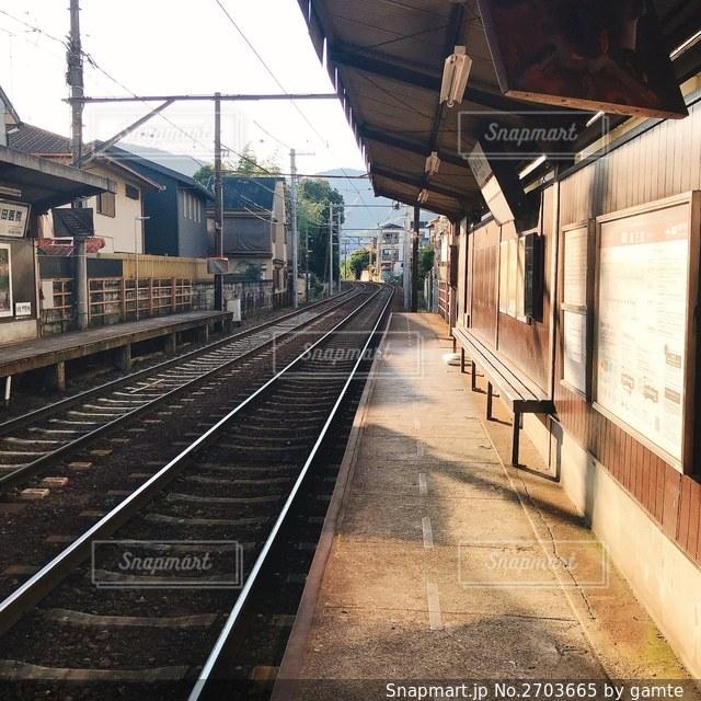 駅のホームの写真・画像素材[2703665]