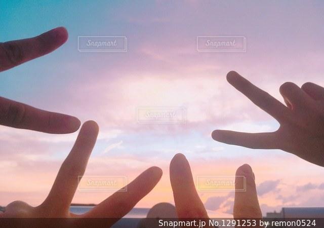 空の写真・画像素材[1291253]