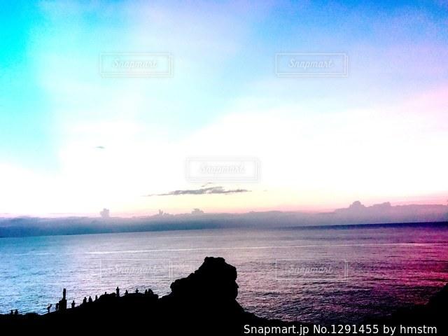 不思議色の空の写真・画像素材[1291455]