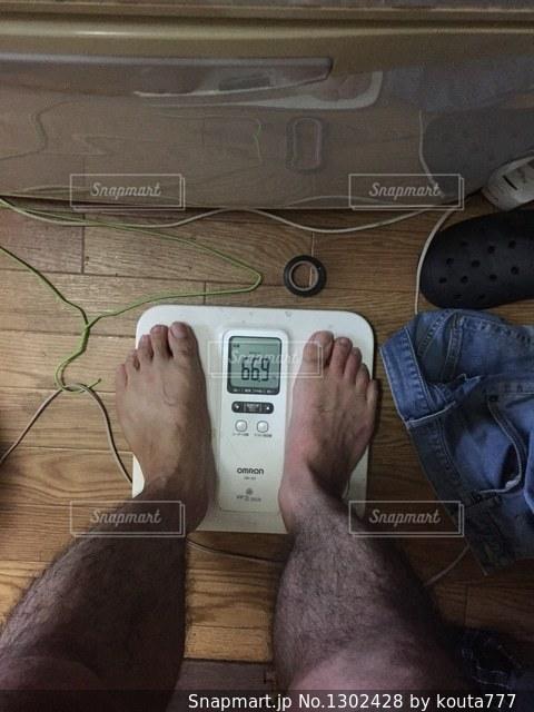 ダイエットを決意の写真・画像素材[1302428]