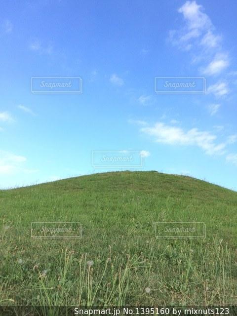 ただの丘。の写真・画像素材[1395160]