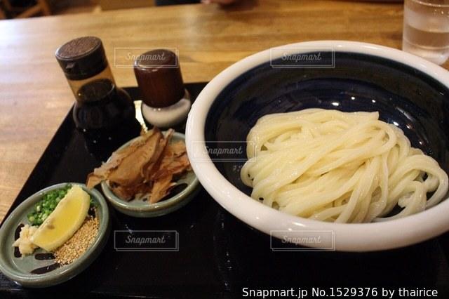 香川で食べたうどんの写真・画像素材[1529376]