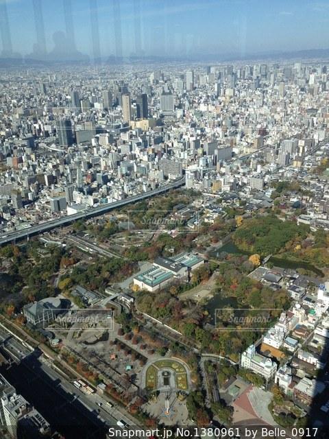 大阪・あべのハルカス展望台の写真・画像素材[1380961]