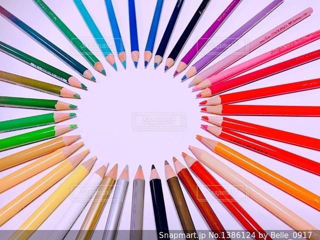 36色いろえんぴつ。No.13。の写真・画像素材[1386124]
