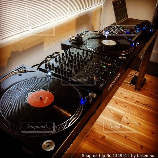 DJ機材の写真・画像素材[1349512]