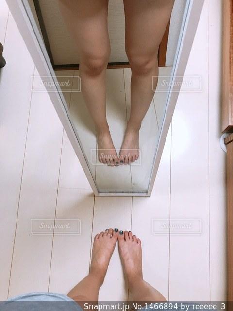 脚の写真・画像素材[1466894]