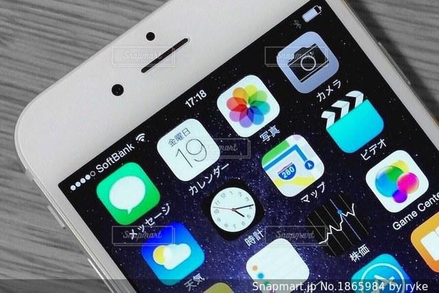 iPhone 6sの写真・画像素材[1865984]