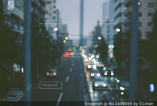 いつもの渋滞の写真・画像素材[1449569]