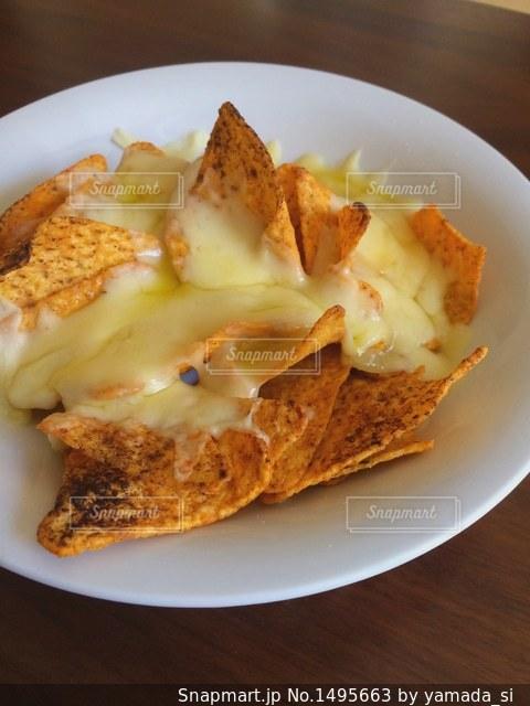 ナチョチーズの写真・画像素材[1495663]