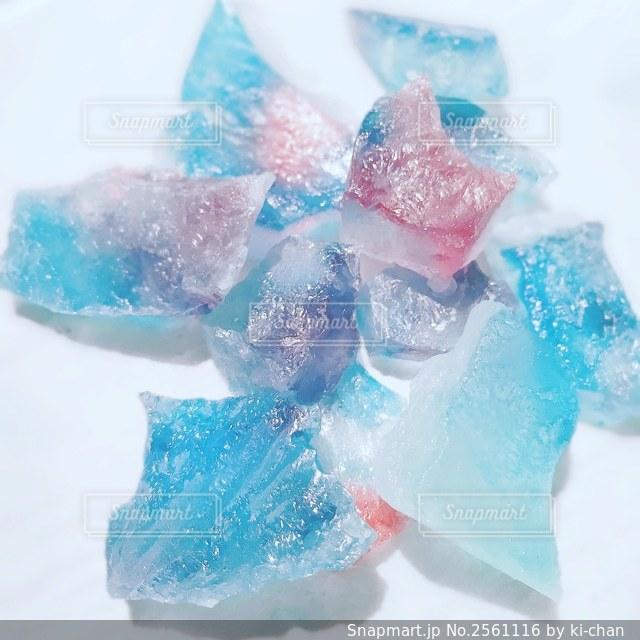 宝石の煌めき琥珀糖の写真・画像素材[2561116]
