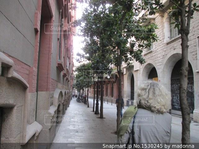 石造りの散歩道の写真・画像素材[1530245]